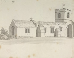 Annesley (old) Church f.115